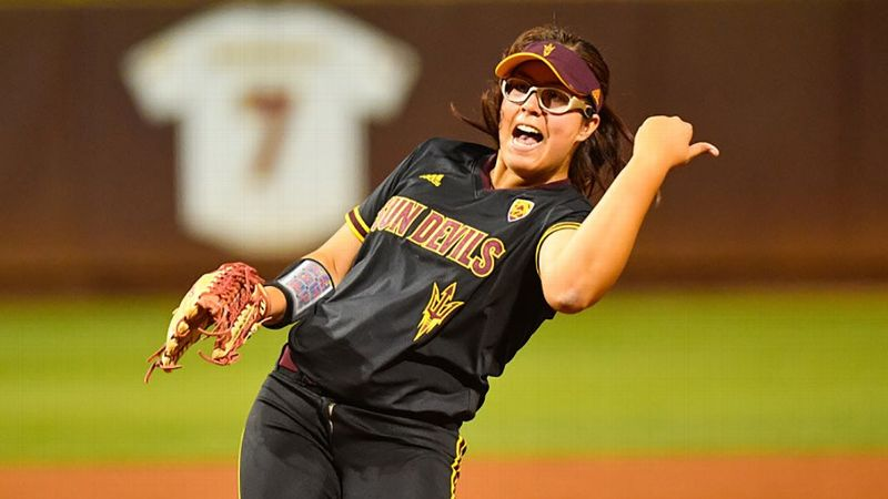 pac 12 softball emerges from sec shadow with practically perfect week