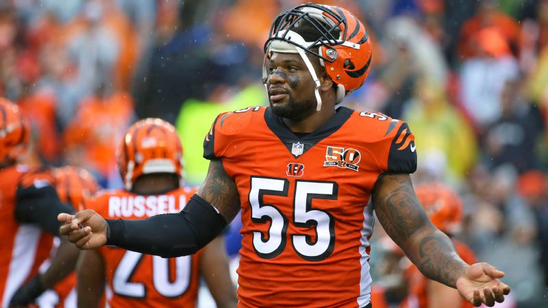 newest 0b236 a4cea Vontaze Burfict of Cincinnati Bengals fined $112,000 for ...