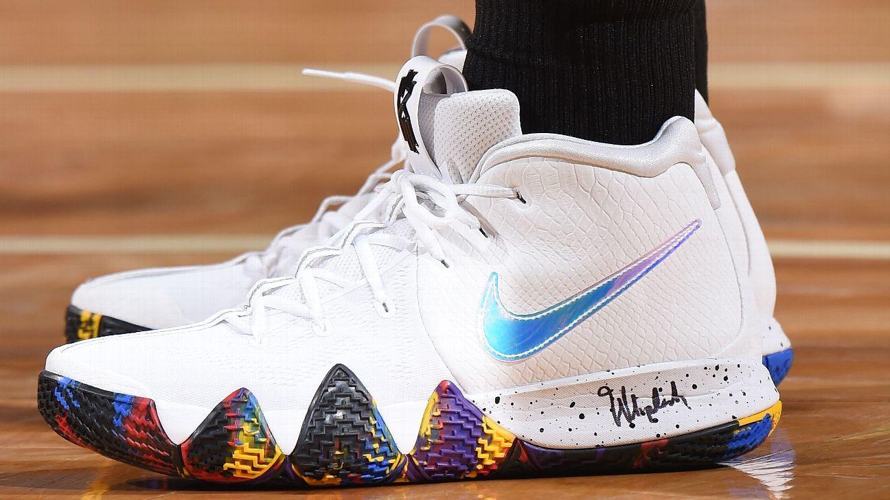 best sneakers a26ba f097c Decoding the sneaker scribbles of NBA stars
