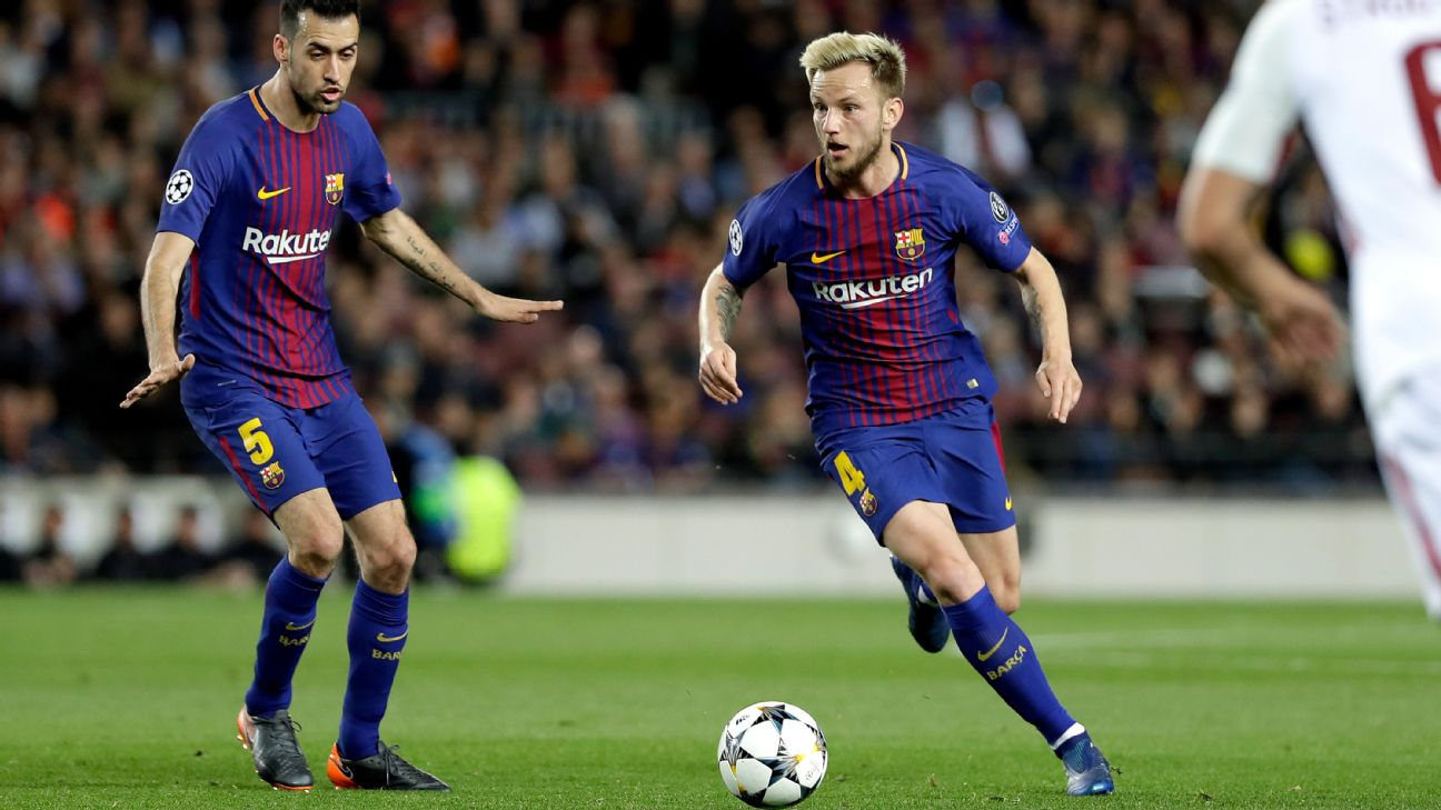 PSG still have summer business on their mind and could make moves for Barcelona's Ivan Rakitic and Sergio Busquets. Transfer Talk has the latest.
