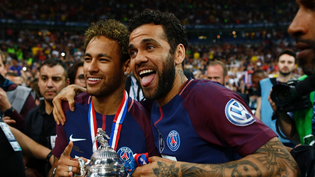 Dani Alves is unrivalled in his propensity to win trophies. With 38 already in the cabinet the only one missing is the World Cup but will he be fit?