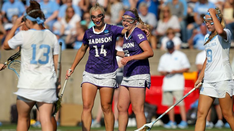 Madison Women Fighting Back By Taking >> 2018 Women S Ncaa Lacrosse Championships James Madison To Face
