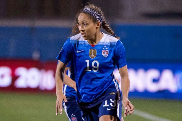 Jaelene Hinkle has made eight appearances for the U.S. women s soccer team. cb38ef979
