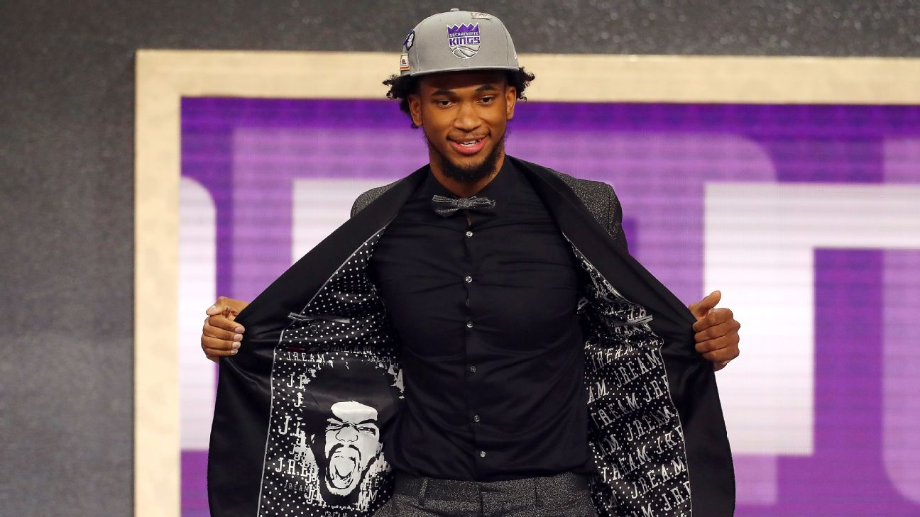 Kings go power forward route with Marvin Bagley III as No  2