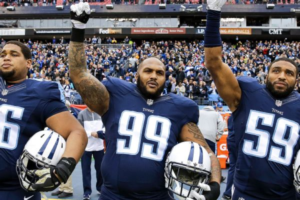 Jurrell Casey. AP Photo James Kenney. Tennessee Titans defensive lineman  Jurrell Casey (99) plans to continue protesting during the national ... fbaafb6d1