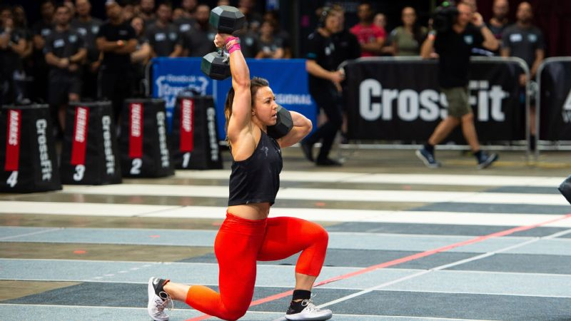 How Crossfit Games Powerhouse Kara Saunders Matches Her Workout Mood
