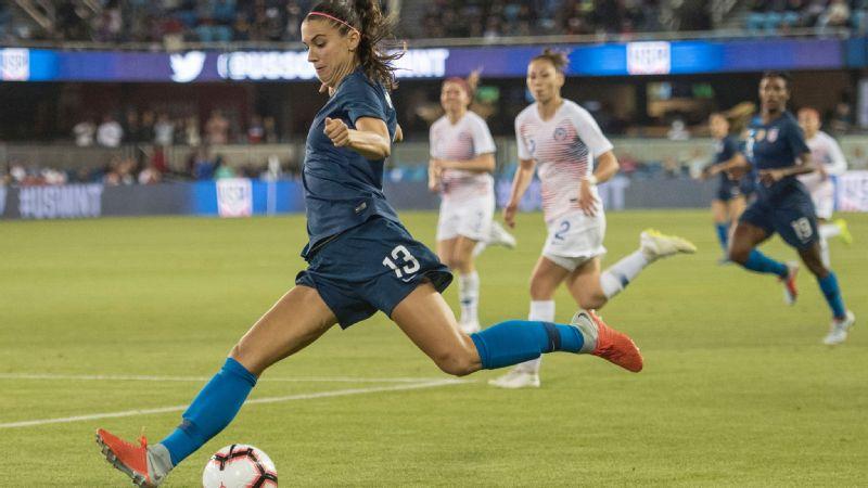 3b31dbef1 U.S. women s national team preps for qualifying as 2019 Women s ...