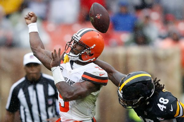 b144e6c7c82 NFL says key flag in Pittsburgh Steelers-Cleveland Browns called in ...