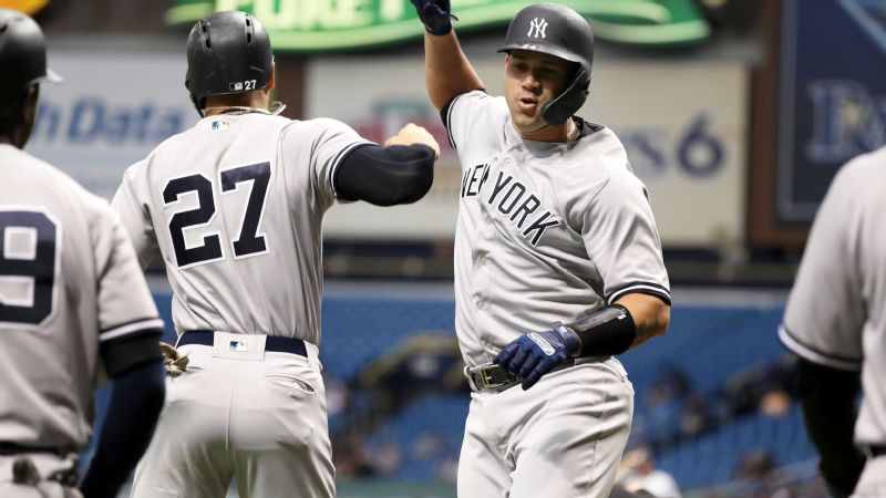 52e75ad7a16 New York Yankees set single-season home run record with 265th of season