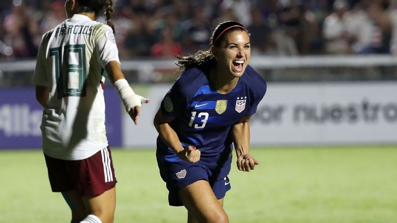 U.S. women s women s national soccer team runs past Mexico in ... 9147ba7d2c