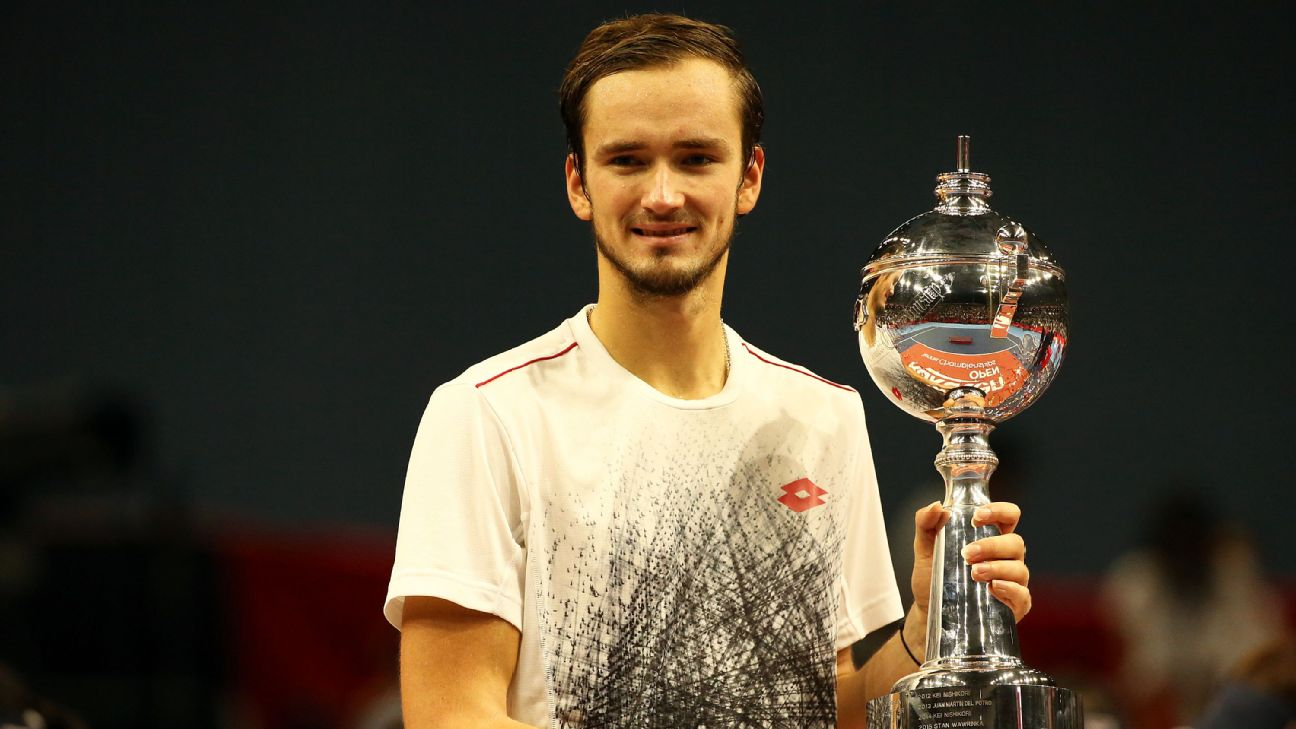 Russian qualifier Daniil Medvedev stunned home favourite Kei Nishikori in the final to claim the Japan Open title after a comfortable 6-2 6-4 victory in Tokyo Sunday.