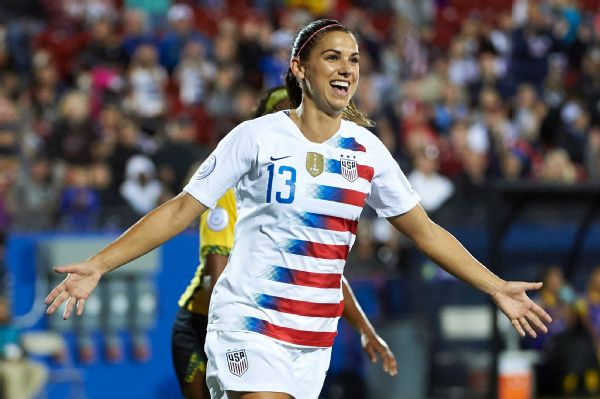 check out f20d6 0ecdd Alex Morgan named top female player by U.S. Soccer