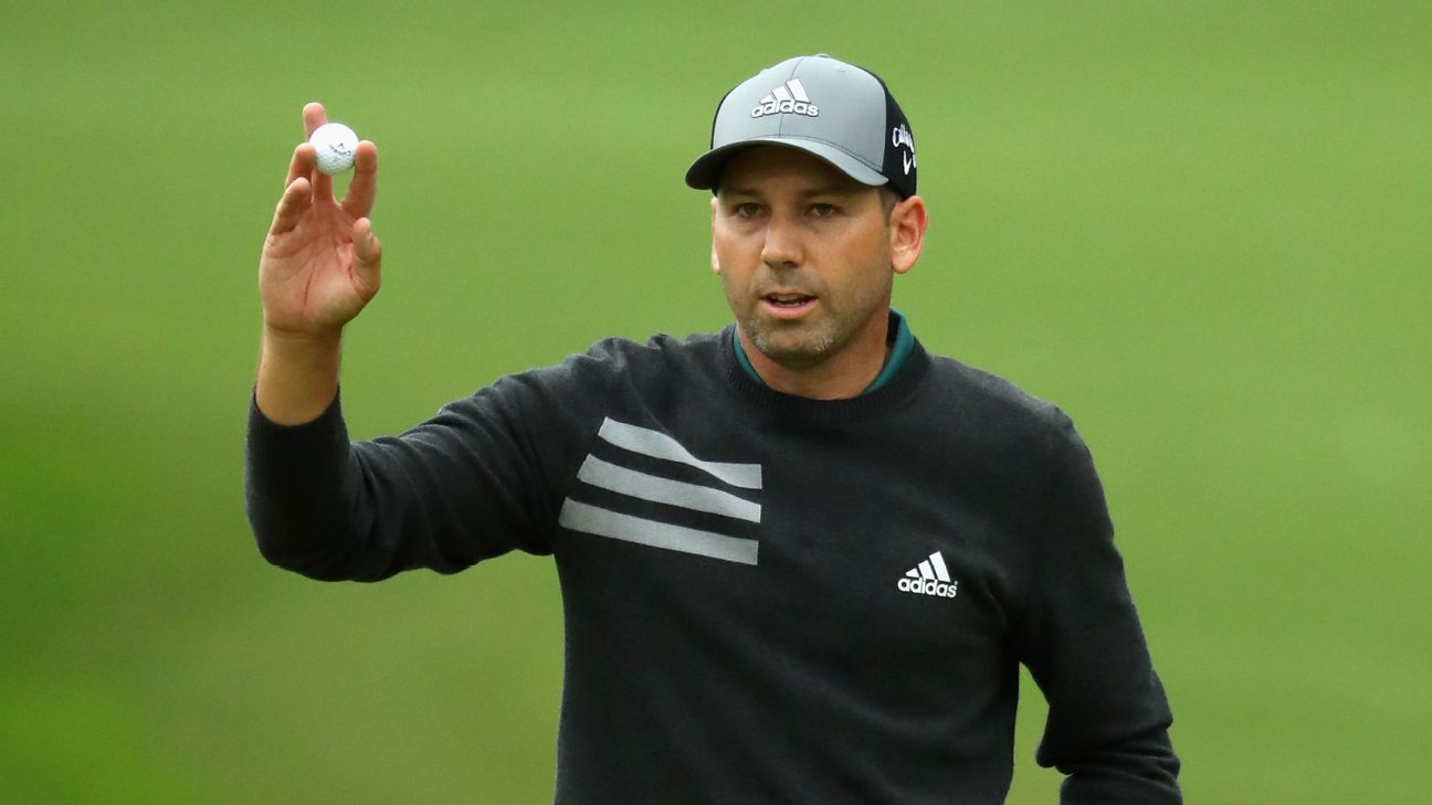 Defending champion Sergio Garcia is four shots clear at the Valderrama Masters heading into Sunday's final round.