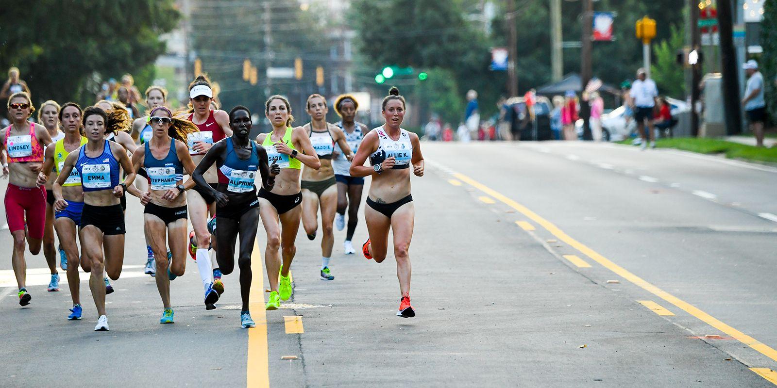 Amateur womens marathon times