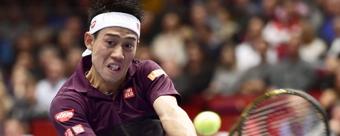 Kei Nishikori is aiming to win his first ATP Tour title of the season.