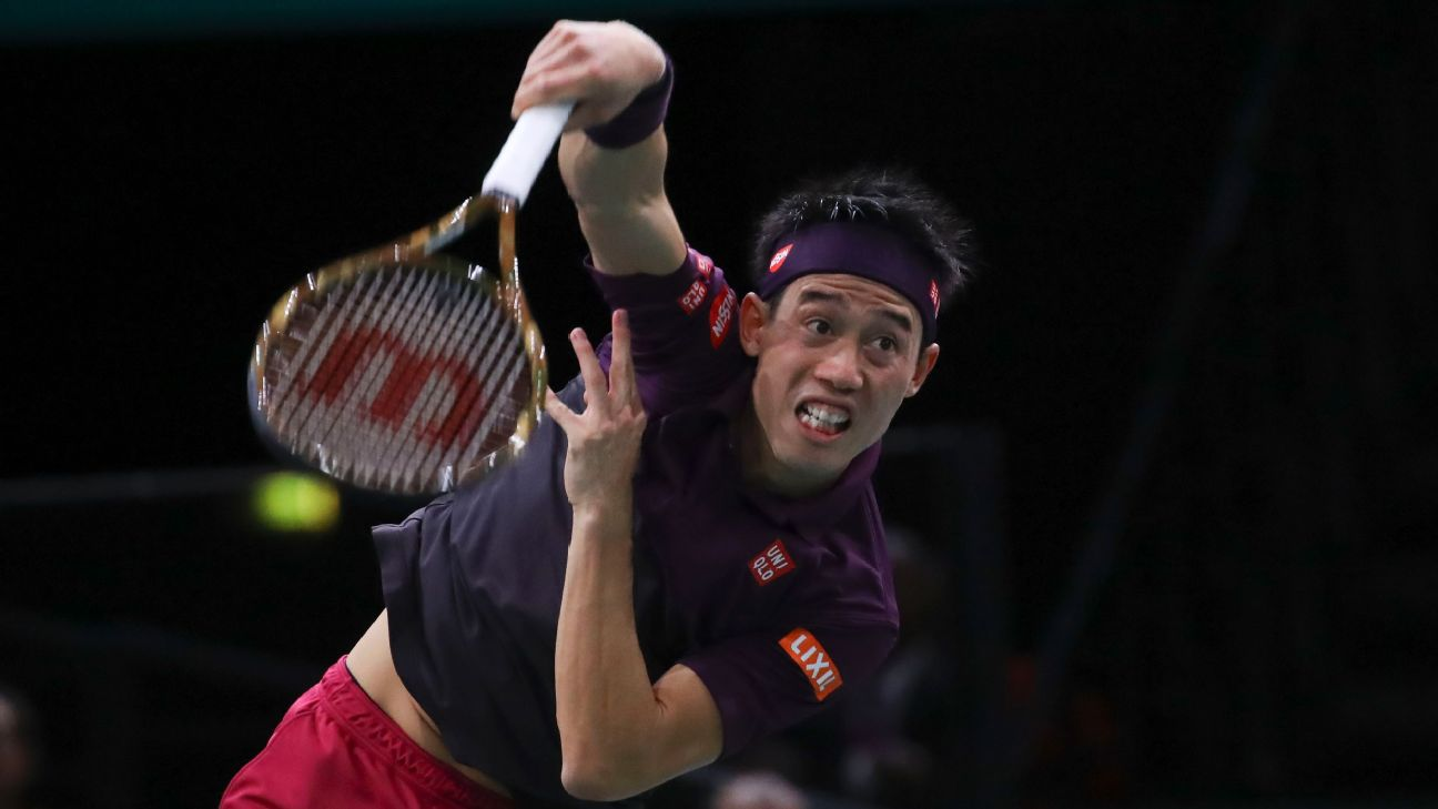 Kei Nishikori has never won the year-end finals, but he is one of the best hard-court players in the game. Gwendoline Le Goff/Panoramic/Icon Sportswire