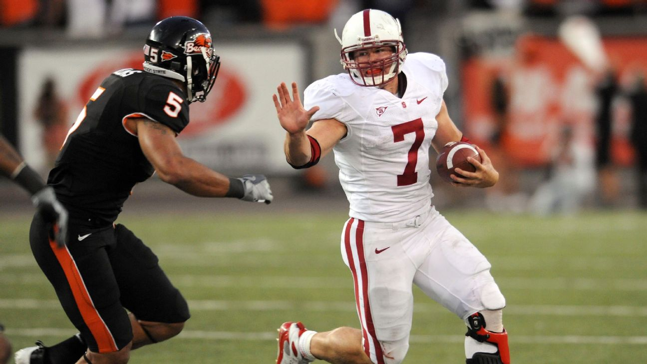 Toby Gerhart ran for a Division 1A-best 1,871 yards and 28 touchdowns in 2009.