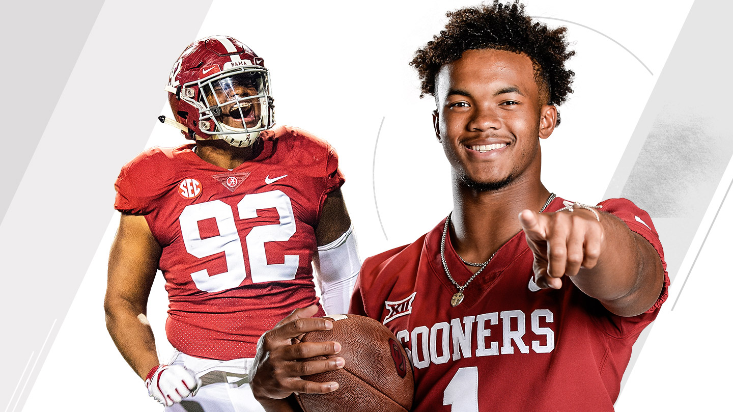 The ESPN college football All-America team is led by Alabama DT Quinnen Williams and Oklahoma QB Kyler Murray.