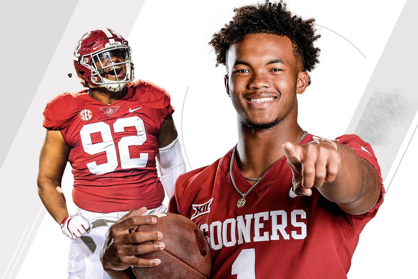 Kyler Murray and Quinnen Williams lead this year's college football All-America team.