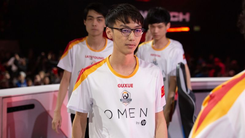 f53d405cb Overwatch  Team China s Guxue hopes to be  even better  in Overwatch ...