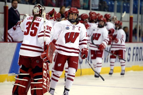 the latest 78ccc bdc48 2019 Women's NCAA hockey championship -- Wisconsin is back ...