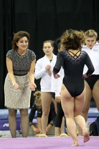 UCLA gymnastics coach Valorie Kondos Field's storied (and