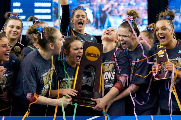 88cfa4fe7a2 The Oklahoma Sooners celebrated their third NCAA gymnastics title in four  years on Saturday.