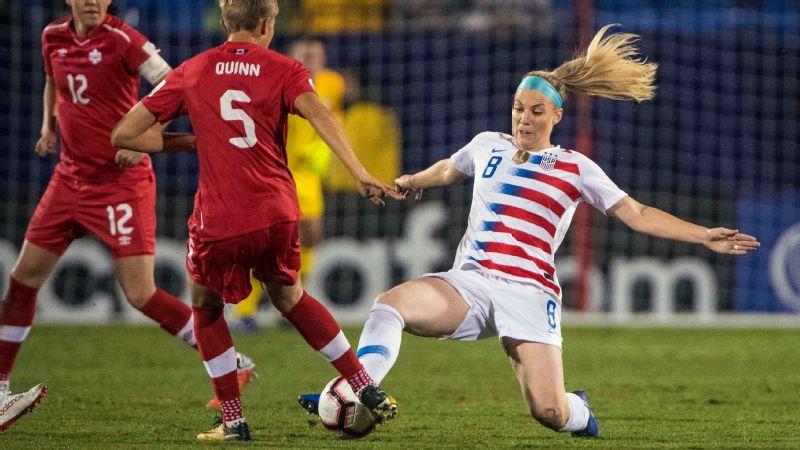 d556fab82cb Julie Ertz is the ass-kicker of the U.S. women's national team