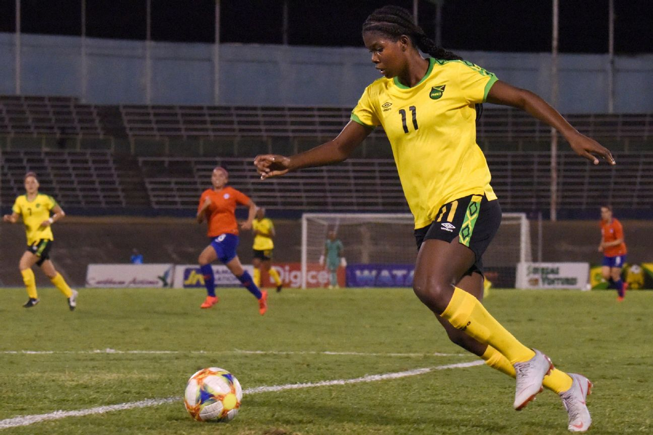 quality design ff843 abc02 How Bob Marley's daughter saved Jamaican women's soccer
