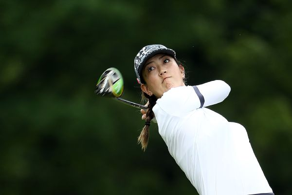 Michelle Wie at the KPMG Women's PGA Championship