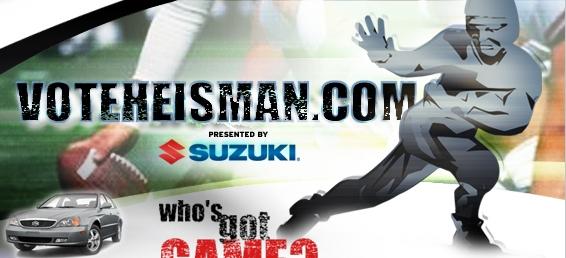 Suzuki - Heisman Trophy Sweepstakes