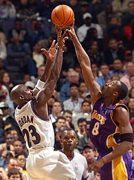 Jordan and Kobe