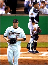 Roger Clemens & Mike Piazza