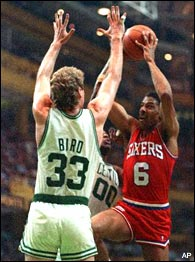 Larry Bird & Dr. J