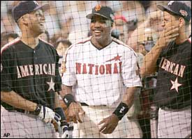 Derek Jeter, Barry Bonds, Alex Rodriguez