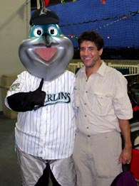 Jeff and Billy the Marlin