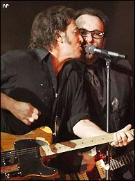Bruce Springsteen, Elvis Costello