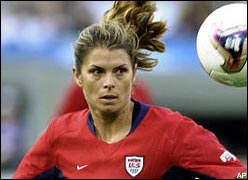 A biography of mia hamm an athlete