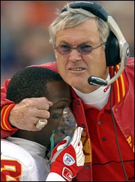 Dick Vermeil and Dante Hall