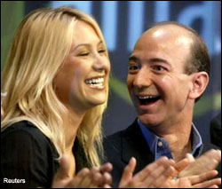 Anna Kournikova and Jeff Bezos
