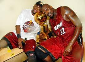 Shaq and Wade