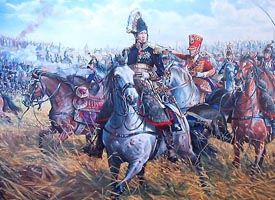 Napoloen at Waterloo