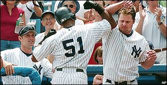 Jason Giambi, Bernie Willaims