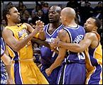 Rick Fox and Doug Christie