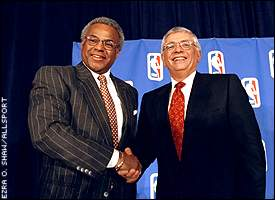 Billy Hunter and David Stern