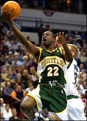 Flip Murray is no longer a member of the Seattle Supersonics.