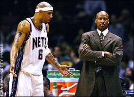 Kenyon Martin and  Byron Scott