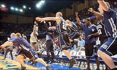Butler celebrates