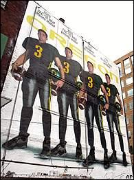 Joey Harrington billboards