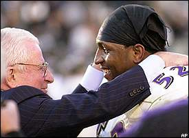 Art Modell and Ray Lewis